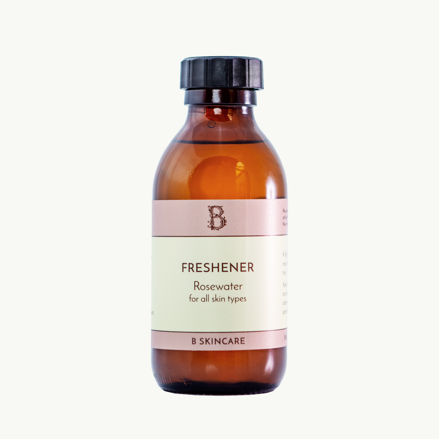 Rosewater Freshener with screw top