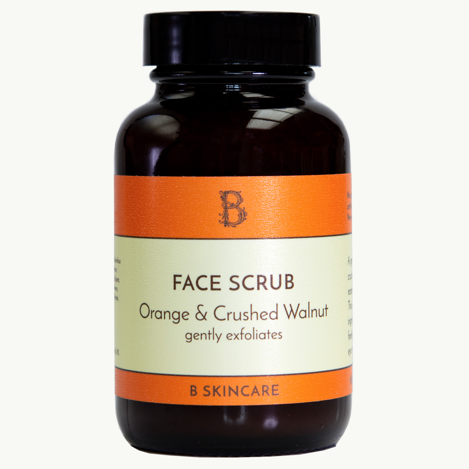 Face Scrub Orange and Crushed Walnut 120ml