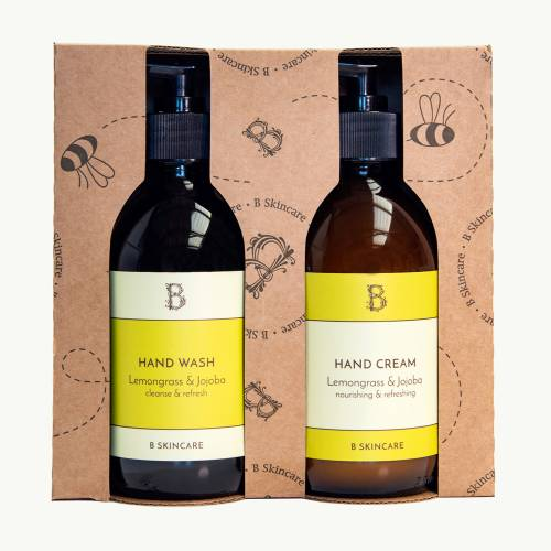 B Handy Gift Set - Lemongrass & Jojoba Set